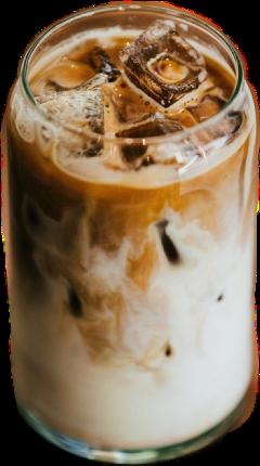 icedcoffee coffee aesthetic trendy freetoedit
