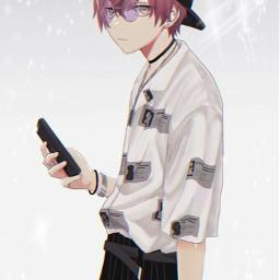 anime hotanimeboy animeboy cutie chill freetoedit