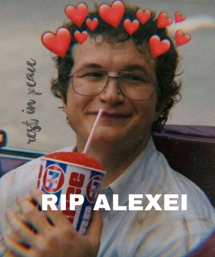 RIP ALEXEI #freetoedit