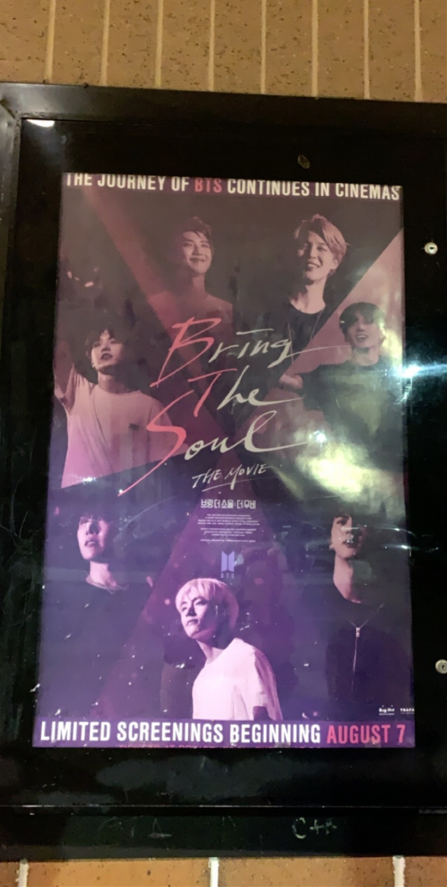 just watched bring the soul! the audience was surpisingly calm and no one brang their army bomb 💕    #bts #bringthesoulthemovie #movie