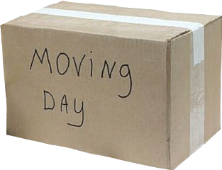 box cardboard aesthetic tumblr moving freetoedit