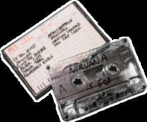 tape casette nirvana emo punk freetoedit