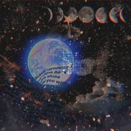 background wallpaper earth stars backgroundsforyou freetoedit
