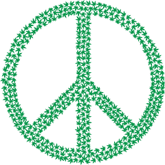 peace freedom weed hippie 60s freetoedit