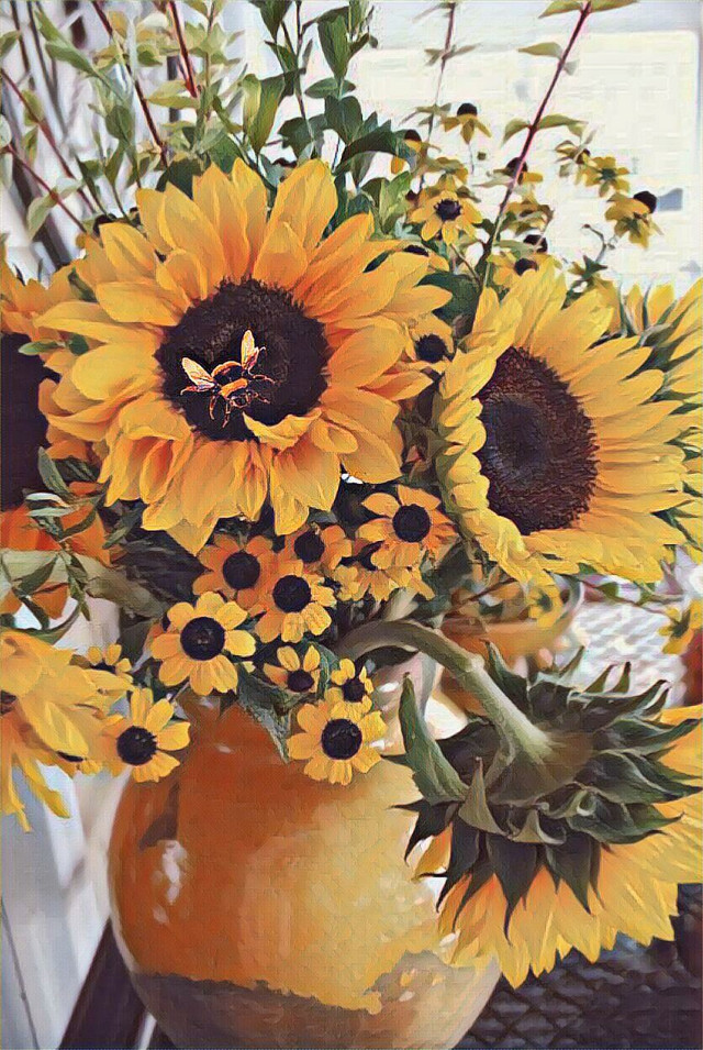 #freetoedit #sunflowers