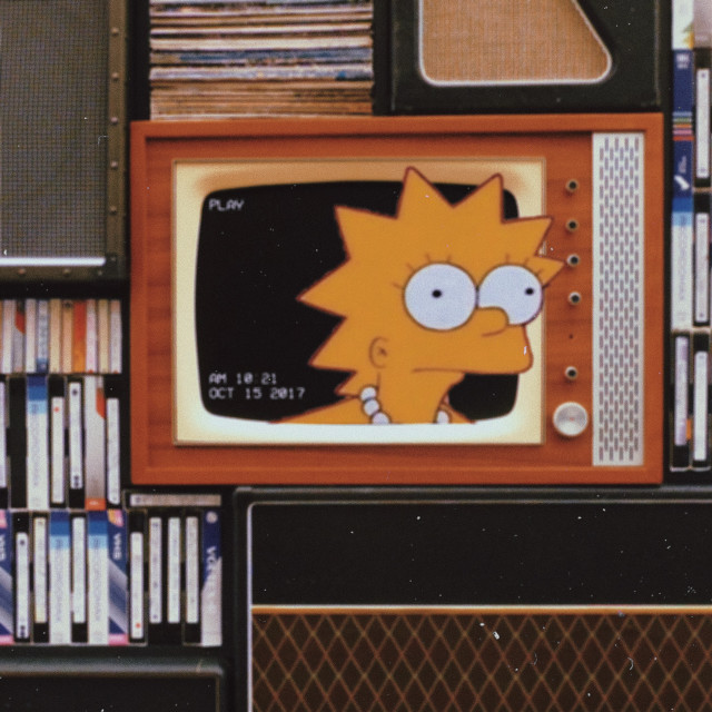What you lookin at? #freetoedit #lisasimpson #replay #remixit #heypicsart