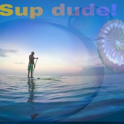 ircpaddleboard paddleboard freetoedit sup bubbles