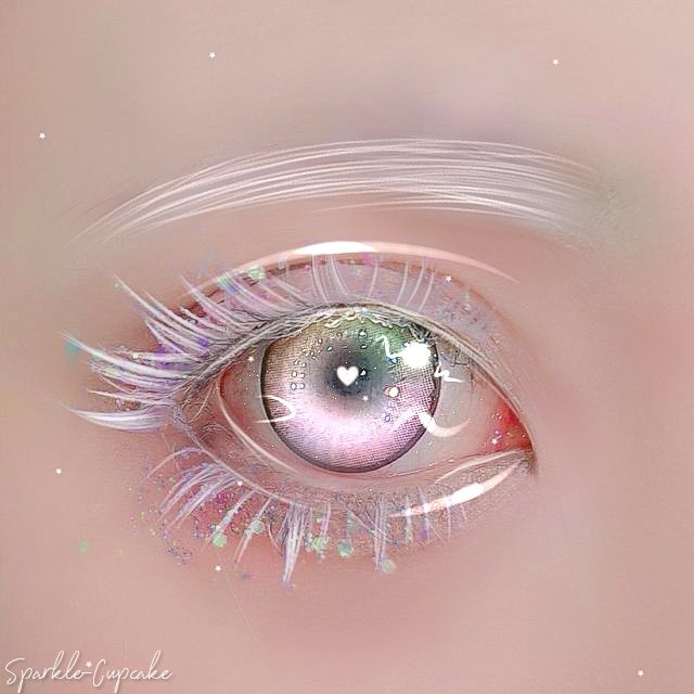 │( ;  :🧁: ˖) °༄  (づ ̄ ³ ̄)づ💕✨                                                 ゜・。。・゜゜・。。・゜゜・。。・゜ #edit #manipulationedit #aesthetic #eye #pastel #makeup #cute #pasteledit #