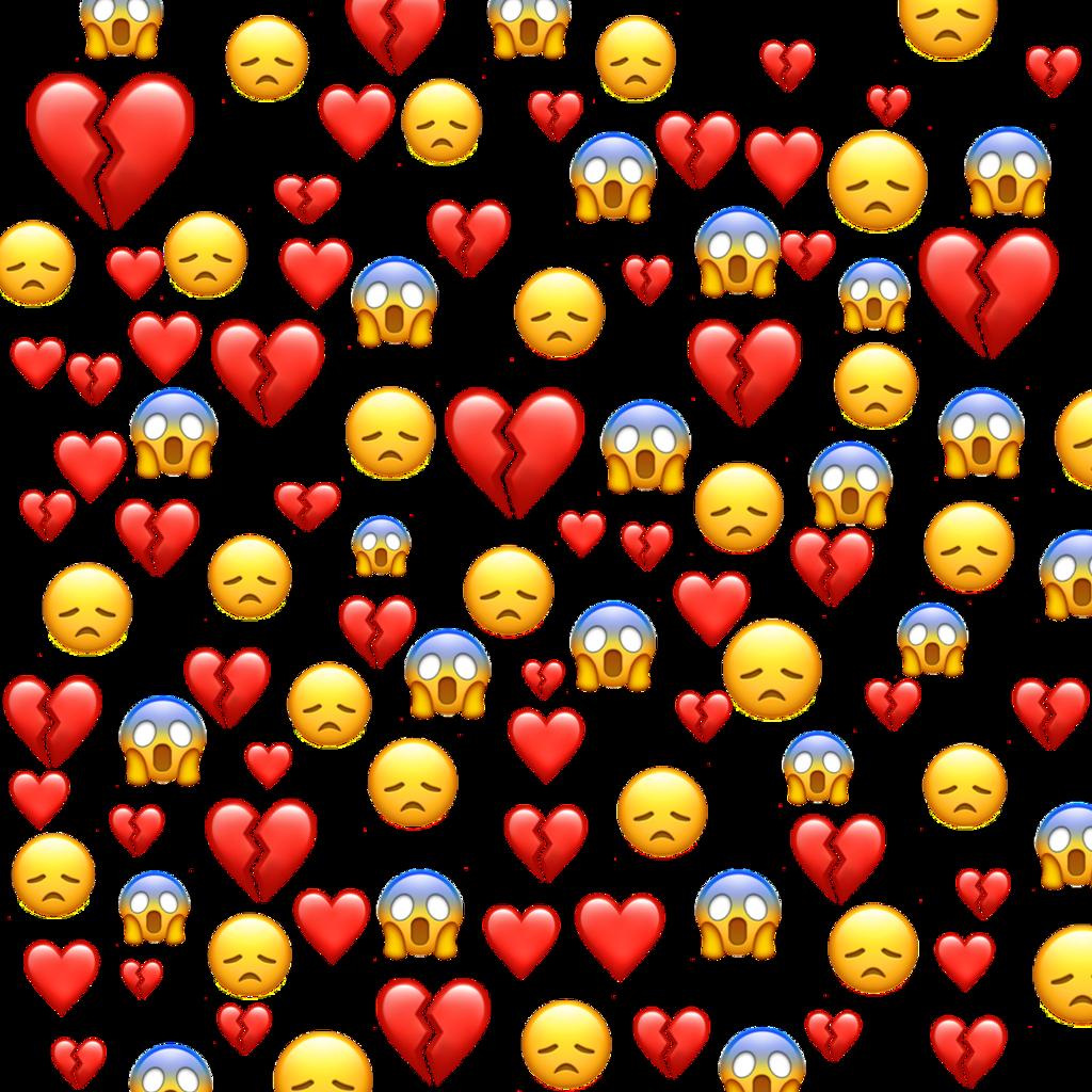 #emojibackgrouds#hearts#emojis❤️😞💔 #freetoedit