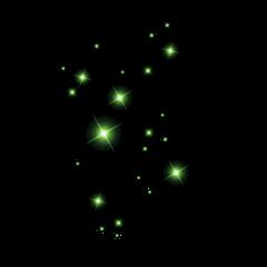 freetoedit green sparkle neon goth