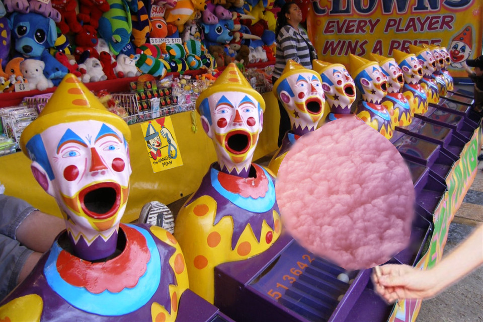 #freetoedit #cloud #clouds #cottoncandy #carnival #circus #clown