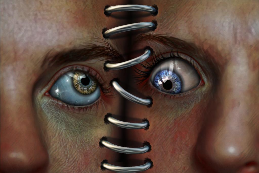 #creepy #eyes #freetoedit