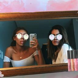 srcgrimeglasses grimeglasses sunglasses teenagers makeup scrunchie freetoedit