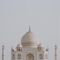 tajmahal travel india background backgrounds freetoedit