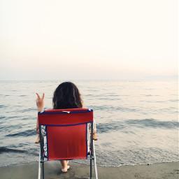 freetoedit summer sea people