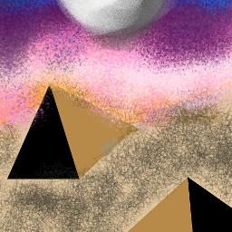 freetoedit oasis lindo pintura creativo dcoasisinthedesert