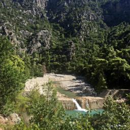 photography nature mountains river turkey freetoedit