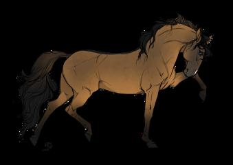 horse draw art realistic mare freetoedit