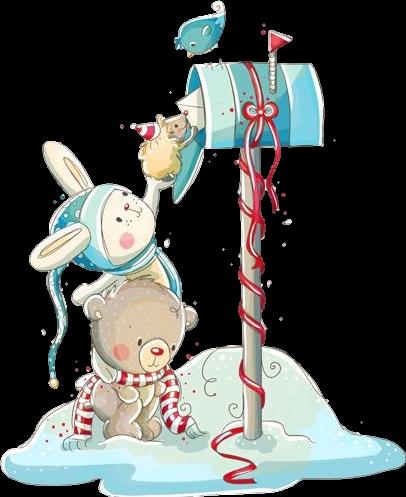 #mailbox #cute #kwaii #rabbit #bear #bird #hedgehog