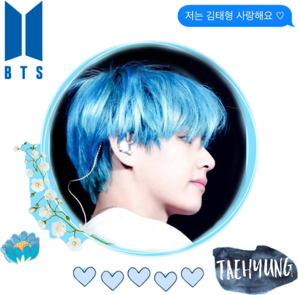 #btsedit #taehyung #blue