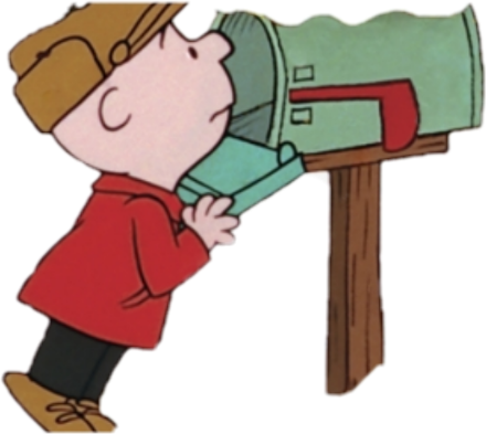 #mailboxes #charliebrown #christmas
