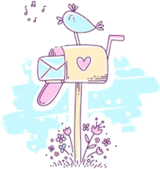 Aswell as doing his challenge i made this sticker . Its called #cutebirdbox #freetoedit