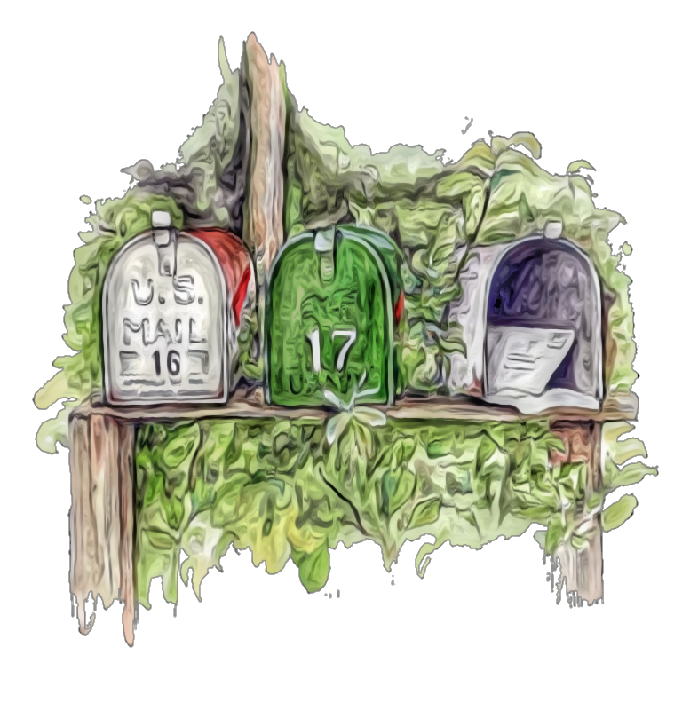 #steampunkangel #mailbox
