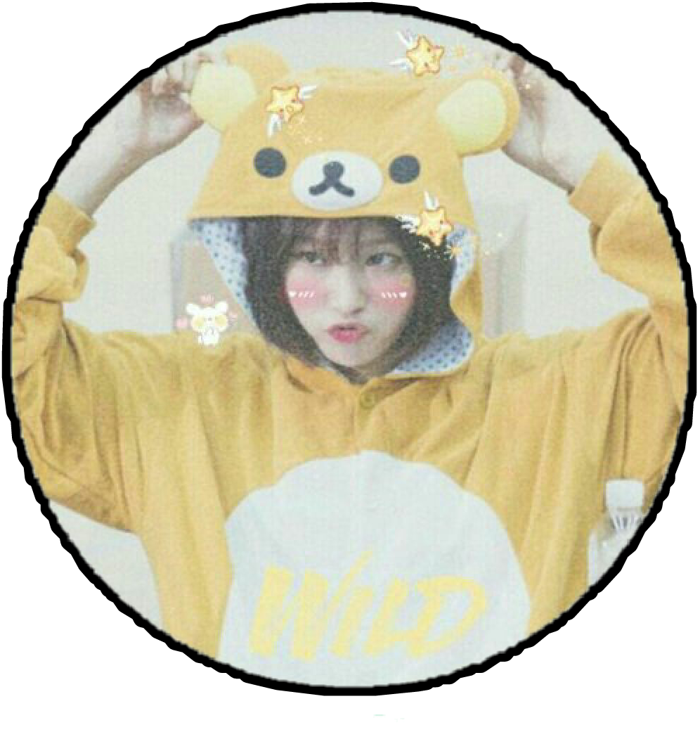 #kpop #sticker #cute #tumblr #yellow #aesthetic #concurso #desafio @xrileymaymikey