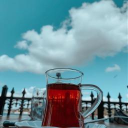 tea sky sea blue shose freetoedit