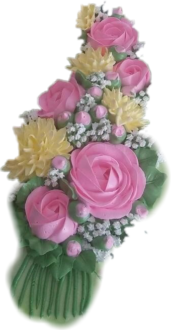 #bouquet #flowers #icing