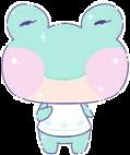 #cute #frog #kawaii #anime #aesthetic