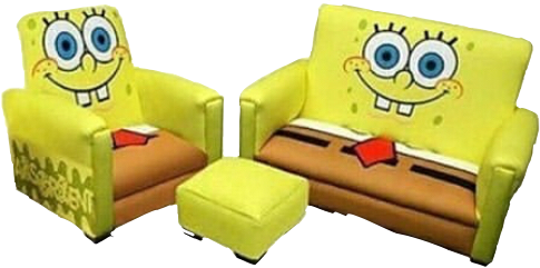 Fine Hehehe Spongebob Spongebobfurniture Furniture Weirdfurn Gmtry Best Dining Table And Chair Ideas Images Gmtryco