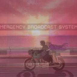 sunset motorcycle emergency