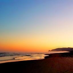 freetoedit sunrise nature lincolncityoregon beach