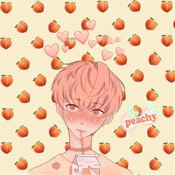 freetoedit naranja peach durazno ircpeachesallaround