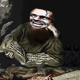 freetoedit horrorart horror jacknicholson theshining