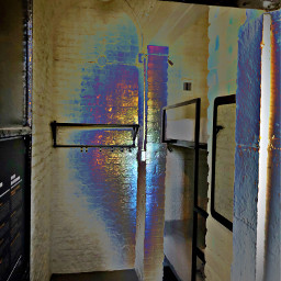 jail jailcell hostel eerie holographic freetoedit