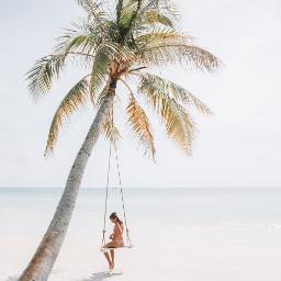 beach nature people freetoedit