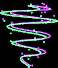 spiral neon spiralneon freetoedit