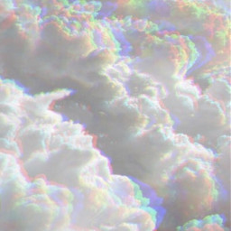 clouds holo holographic holographicbackgrounds sky