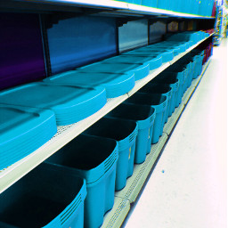 interesting photography blue crate basket freetoedit