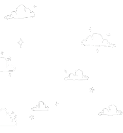 clouds freetoedit cute aesthetic lineart