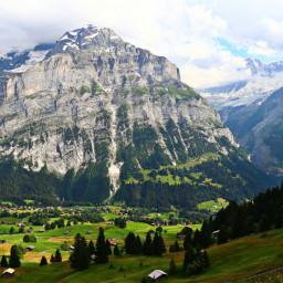 freetoedit switzerland alps mountians giant