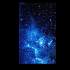 space dark stars blue black freetoedit