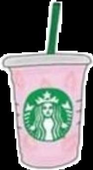 vsco tumblr pink coffee starbucks freetoedit