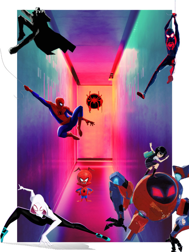 #freetoedit #spiderman #spiderverse #spidermanintothespiderverse #marvel