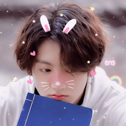 jungkook tiny bts bunny soft cute