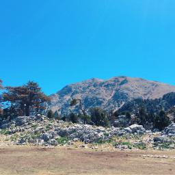 photography nature mountains trees turkey freetoedit