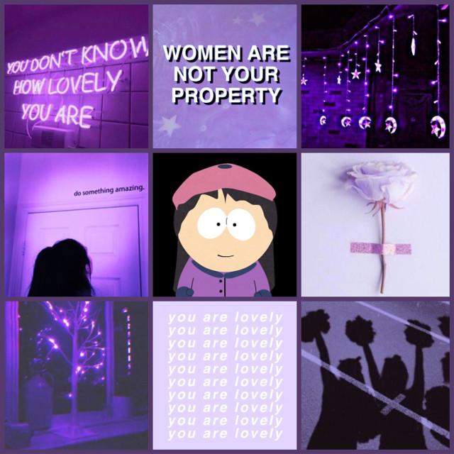 Wendy Testabuger Mood Board #southpark #moodboard #wendytestaburger