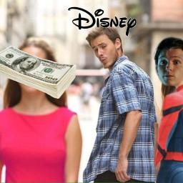 spiderman tomholland disney money sony freetoedit